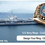 navy rings