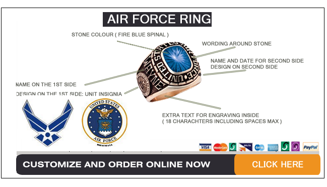 air force rings shop
