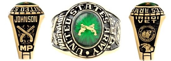 military police rings