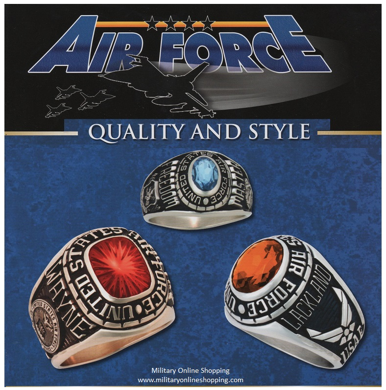 us airforce rings
