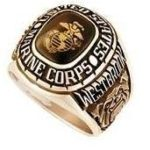 marine corps custom ring